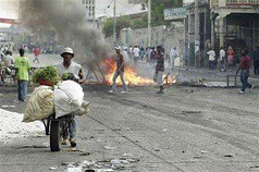Food riots in Haiti