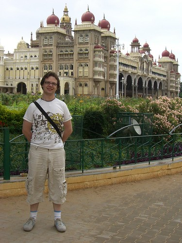 Abel at Mysore Palace