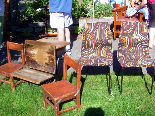 Array of chairs