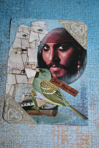 Jack Sparrow-P of the C #1 ATC-traded with Katie