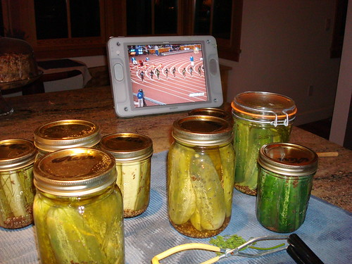 Pickling with the Olympics