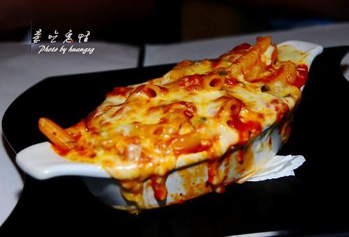 蕃茄臘腸焗麵