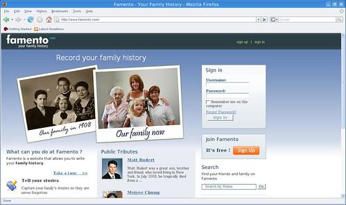 cuenta tu historia familiar