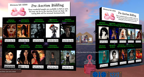Pre-Auction Bidding has started!
