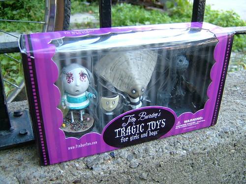 tragic toys tim burton