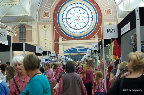 Wool gathering at the Knitting and Stitching Show (3/5)