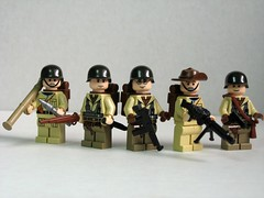 Allied World War II soldiers