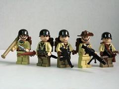 Allied World War II soldiers