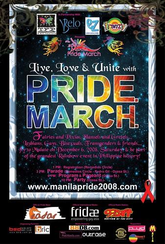Manila Pride March 2008