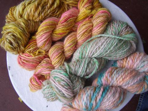 sheltand farm wool