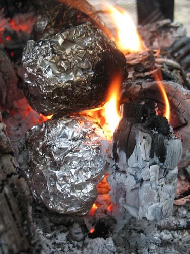 morning potato fire