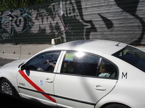 El anónimo taxi