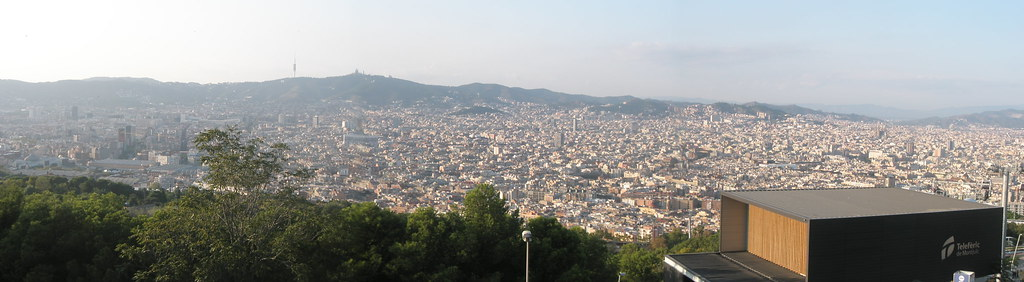 Panorâmica desde Montjuic
