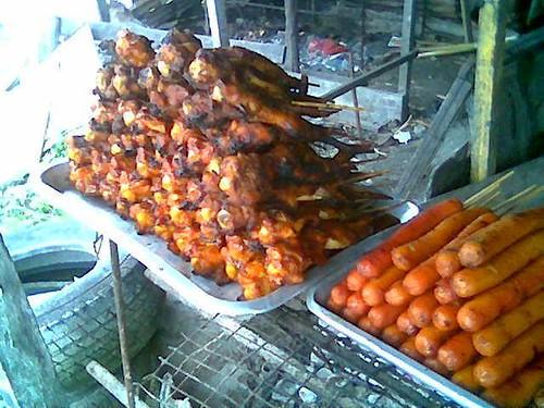 Simpang Tiga BBQ chicken wings