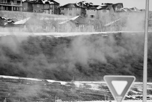 snow steam