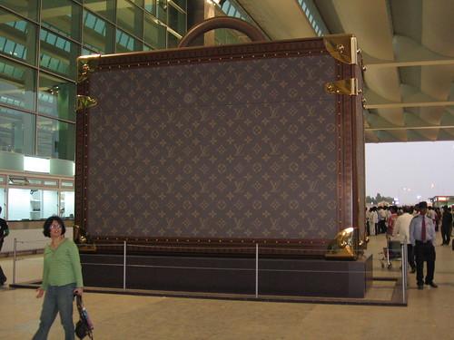 Louis Vuitton Bag at Bangalore Airport