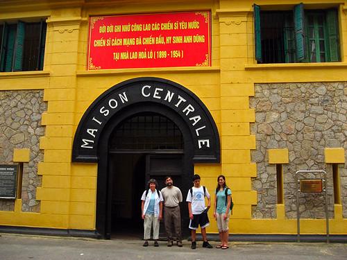 Jodi's family at Hoa Lo prison