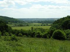 The Chilterns, UK, view from Ashridge Estate
