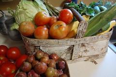 Basket of goodies week five