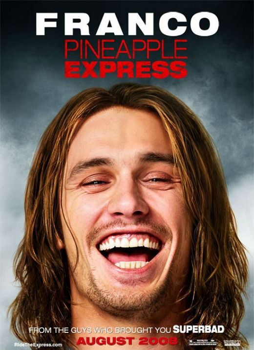 Pineapple Express (2008) Franco poster