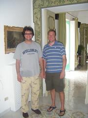Brad and David, Positano