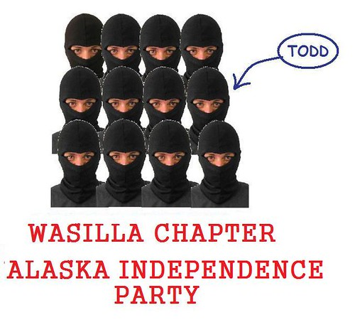 Palin Pals Around With Radical Secessionist!