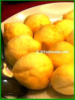 Souffle Balls with Mashed Bean & Banana