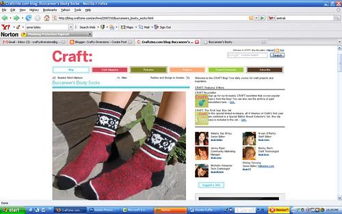 Craftzine 10-2007