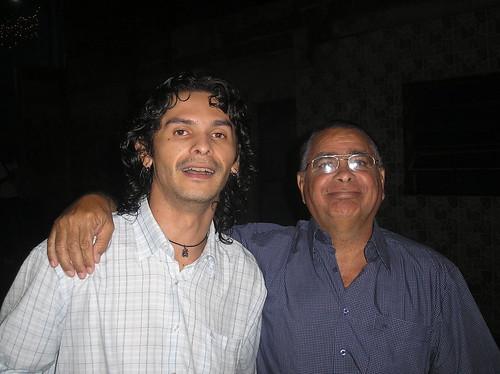 Carlitos (mi suegro) y yo