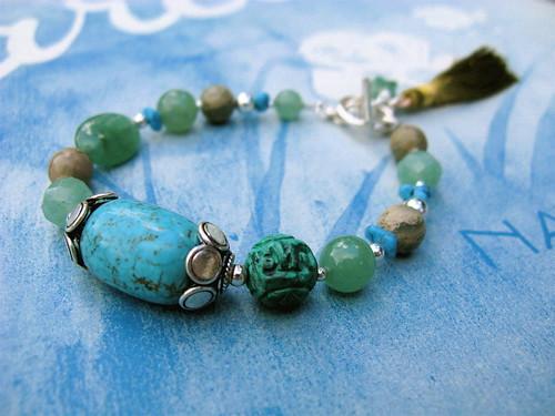 Seafoam bracelet