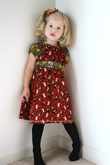 Cord Miss Madeline design by Handmade Dress