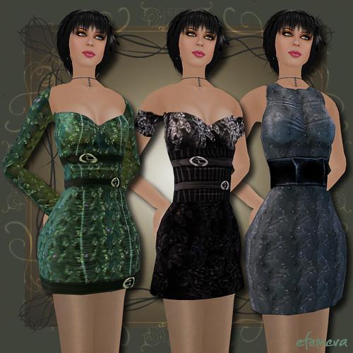 PixelDolls Dresses