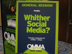 Whither Social Media? OMMA