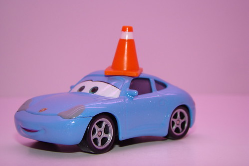 Disney CARS Sally With Cone