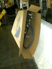 Packing up Bicycle
