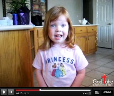 Little Girl Psam 23