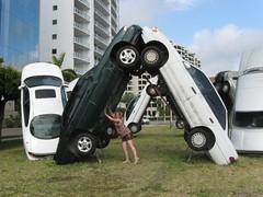 Sarasota car statue #1