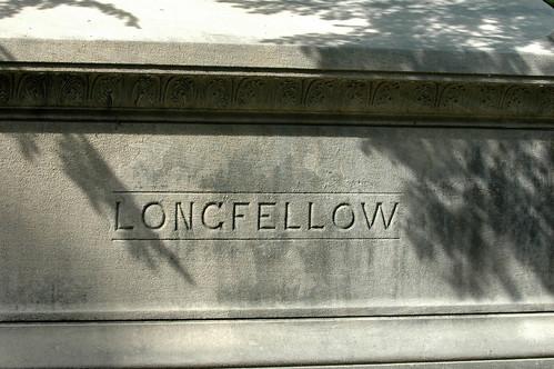 Longfellow at Mount Auburn Cemetery