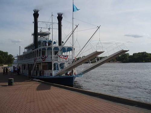 Julia Belle docked