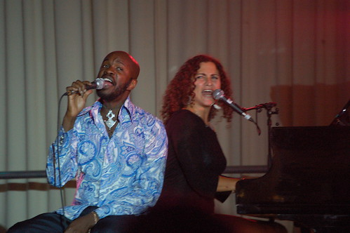 David McAlmont and Natasha Panas