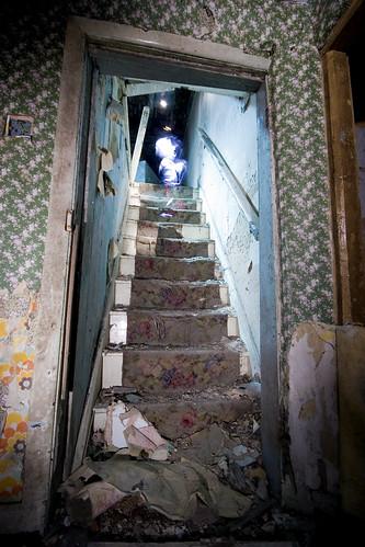 Down The Dark Dark Steps In The Dark Dark House...