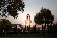 Newport Beach California Temple, Dusk