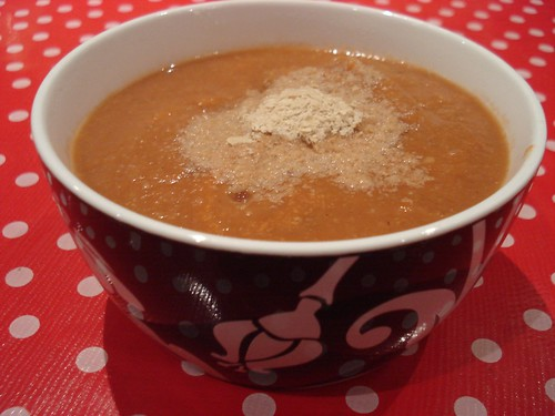 Cauliflower & carrot soup