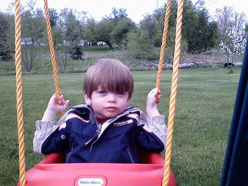 swinging'