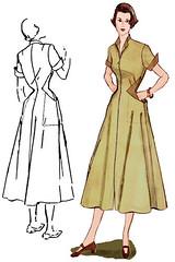 Decades of Style Diamond Dress 5002