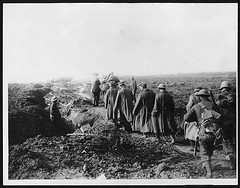 German prisoners, Western Front, during World ...