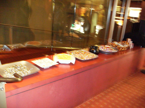 More free snacks at the Egyptian