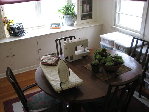 Clean dining room