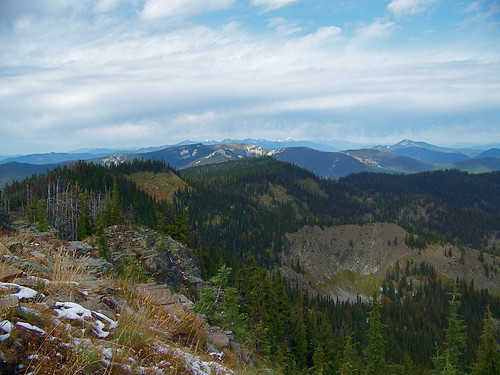 Cabinet Mountains from Vermilion Peak