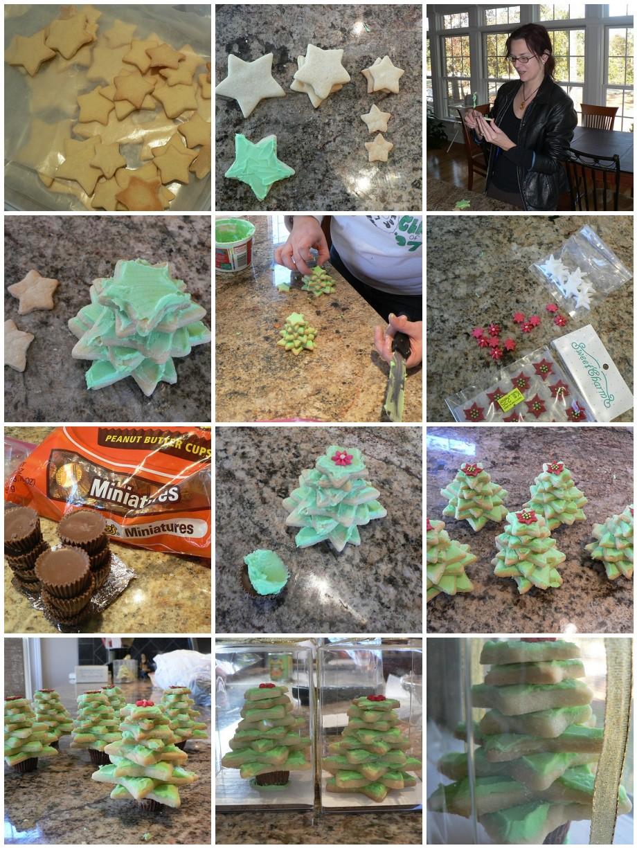 Christmas Tree Cookies Tutorial